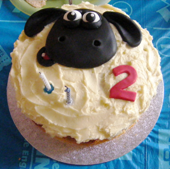 Aidan's 2nd birthday cake