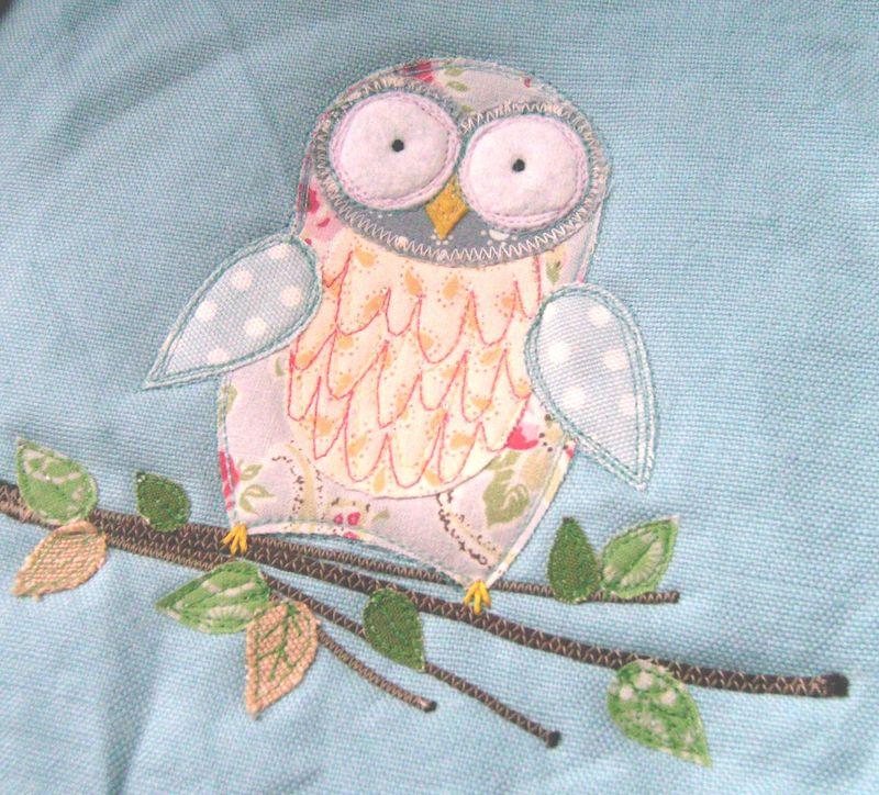 Owl ss applique