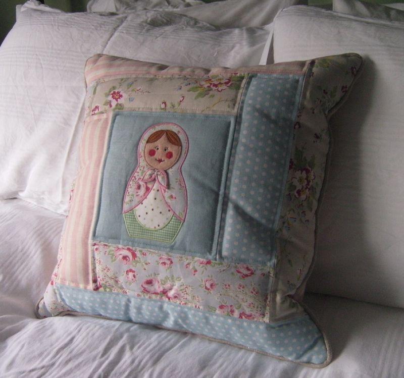Russian doll cushion