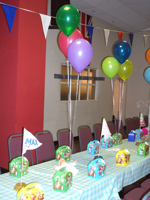 organising the party by committee had a number of benefits the division of labour cost and plentiful ideas even peppa pig made an appearance courtesy
