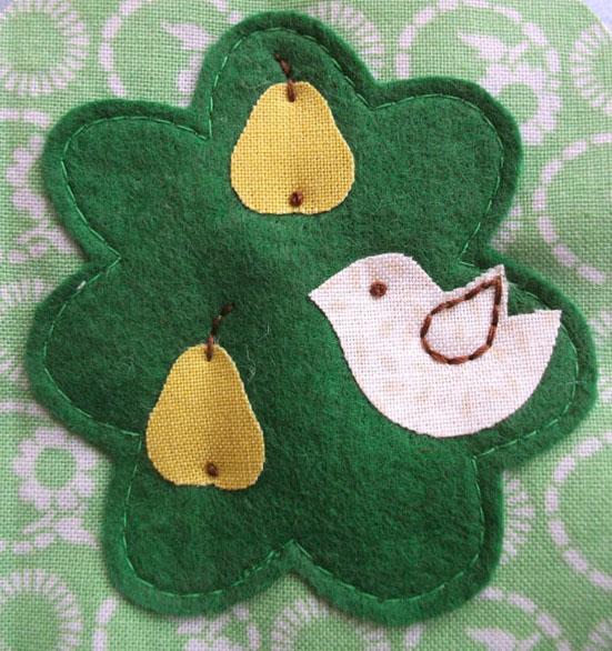 Partridge pattern pics 032