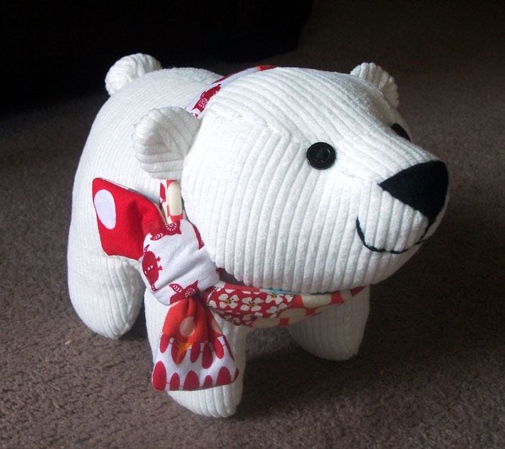 Famous Polar Bear Sewing Pattern Motif - Knitting Pattern Ideas ...