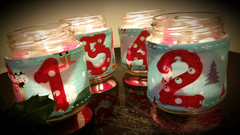 Advent jars 1