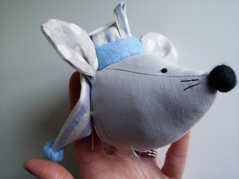 Christmas Mouse step 18