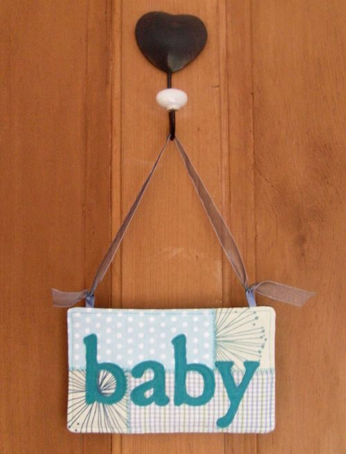 Baby sign front