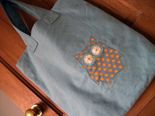 Owl tote 2